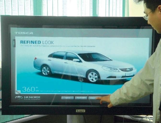 Интерактивный цифровой монитор компании Lumin Vision